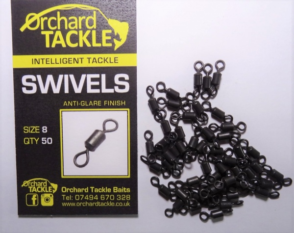 Orchard Tackle Size 8 Swivels
